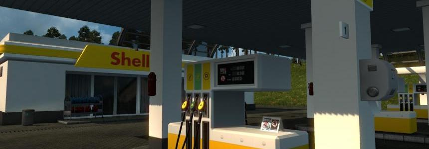 Real European Gas Stations Reloaded v1.0