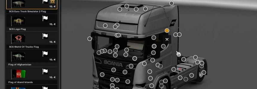 Scania R Mega Mod v6.5 [1.28]