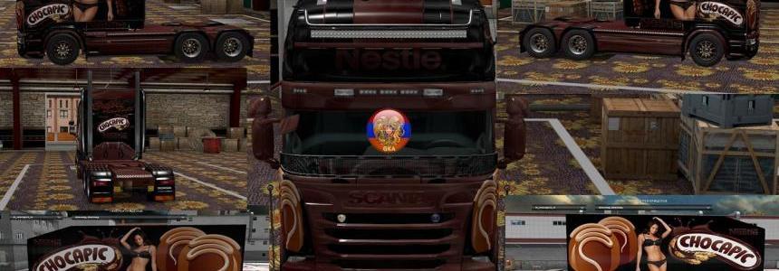 Scania RS (RJL) Chocapic V2 Combo Skin Packs