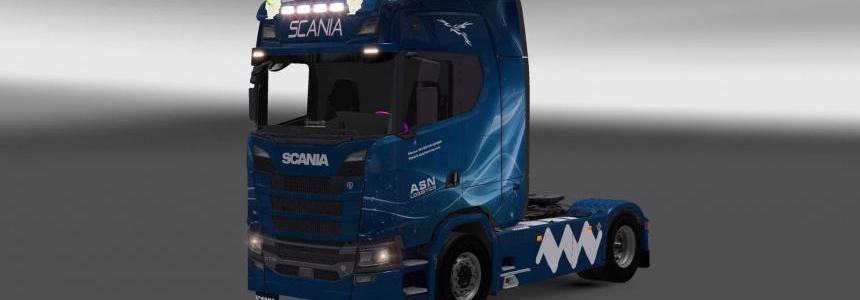 Scania S730 ASN Logistic skin 1.28.x