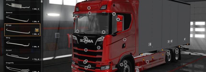 Sexy Lady Skin for Scania Longline - Euro Truck Simulator