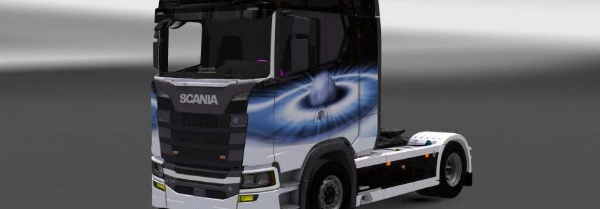 Scania S730 Space skin 1.28