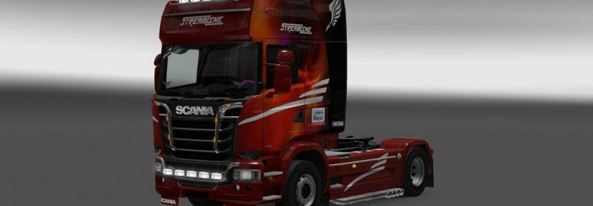 Scania Streamline Major Logistic skin 1.28