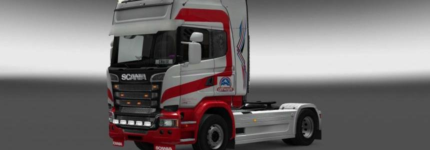 Scania Streamline Olimpus skin 1.28