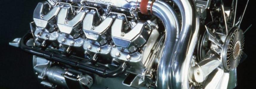 Scania V8/L6 Straight Open Pipe Sound II v6.0