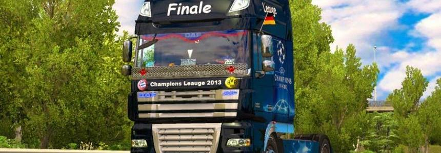 Skin Champions League 2013 final for DAF XF 105