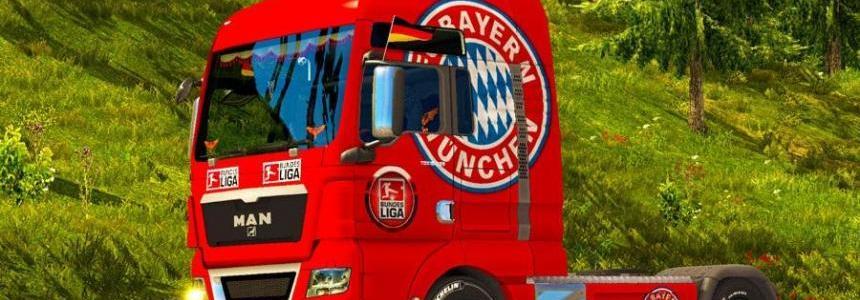 Skin FC Bayern Munchen for MAN TGX