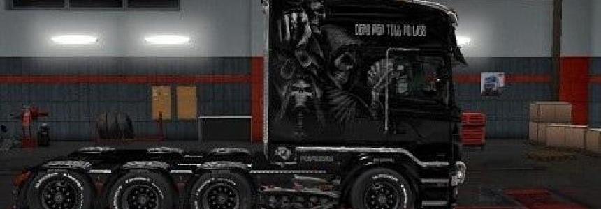 Skull Skin for Scania RS RJL