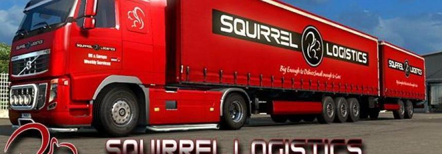 Squirrel Logistics Volvo FH16 Combo v1.0