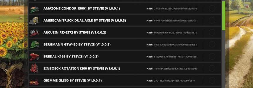 Stevies 2017 ModPack v1.0