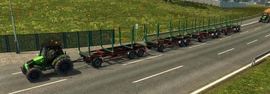 Traffic tractors ETS2 V1.27