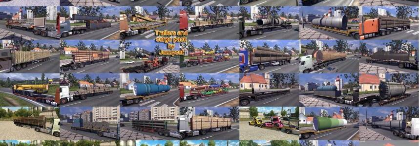 Trailers and Cargo Pack by Jazzycat v5.3.1