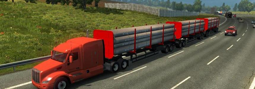 Trucks ATS in traffic ETS2 v1.27