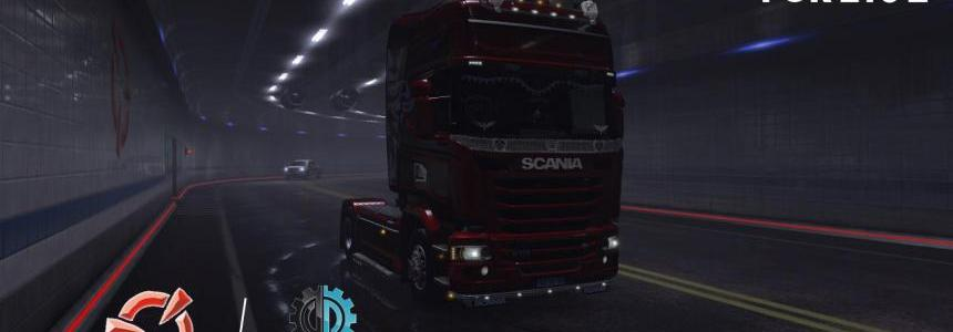 Tunnel Background Option for ETS2 v1.0