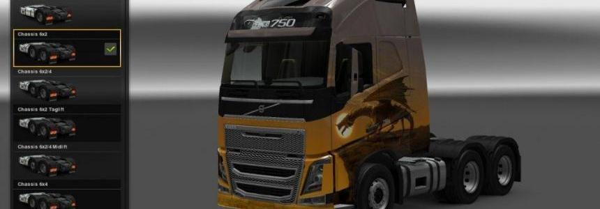 Unlock every Paintjob & Tuning for Volvo FH 2009 & 2013