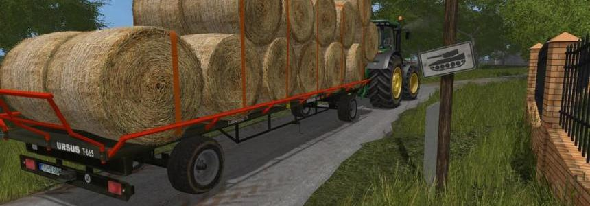 Ursus T665 Farming simulator 17 v1.0