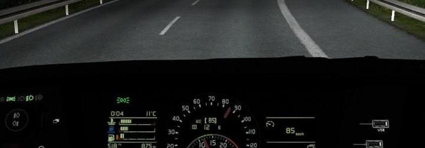 Volvo FH16 2012 (2013) Realistic Dashboard