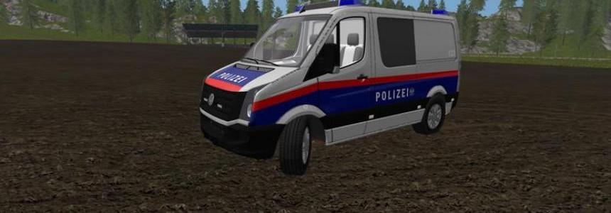VW Crafter Police Austria Skin v2.0