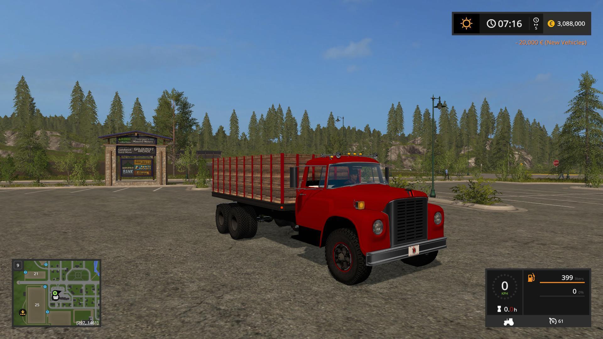 International Loadstar Grain Truck v1 2 - Modhub us