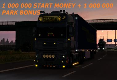 1 000 000 START MONEY + 1 000 000 PARK BONUS 1.27