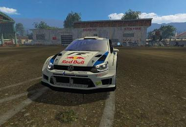 VW POLO WRC RED BULL v1.0