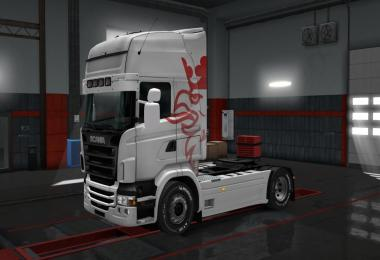 Colored skin For Scania RJL 1.28