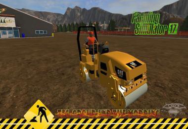 Compacteur tandem Caterpillar CB32 v1