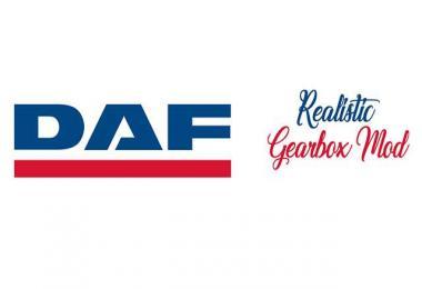 DAF - Realistic Gearbox Mod v1.0