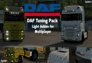 DAF Tuning Pack Light Addon [MP compatible] v1.28.x