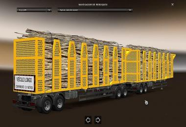 DOUBLE ARTICULATED TRAILER TO TRAFFIC AND CARGO v3.1
