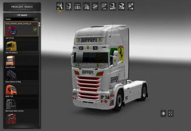 Ferrari Skin for Scania by RJL