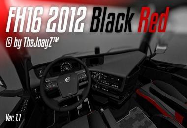 FH16 2012 Black Red Mod v1.1