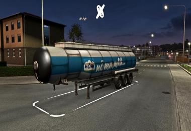 Food Cistern Trailer: NOM Milch v1.0