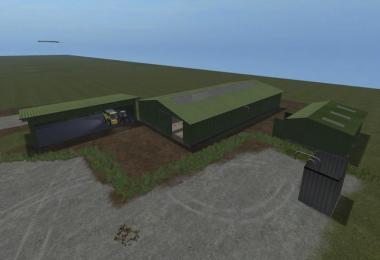 Grune Hallen/Stall v1.0