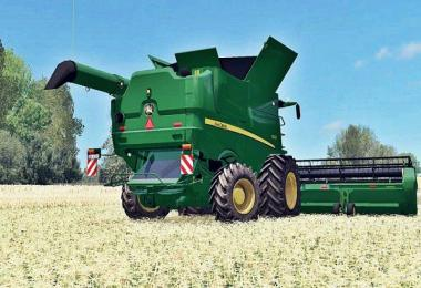 JOHN DEERE S690I FULL WASHABLE PACK v2