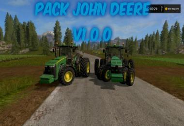 JOHN DEERE TRACTORS PACK   V 1.0.0