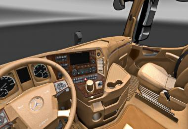 Mercedes Benz New Actros Tan Interior v1.0