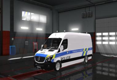 Mercedes Sprinter Policie CR Skin 1.28