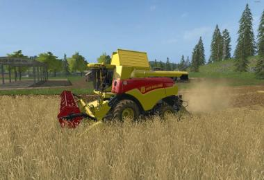 New Holland CR 7.90 120 Years pack v1.0