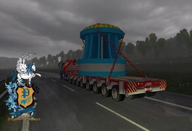 PEGASUS Brazilian oversize turbine transport 1.28