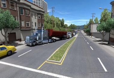 Piva Weather mod for ATS v3.2 compatible with 1.28.x
