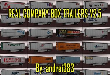 Real Company Box Trailers v2.5