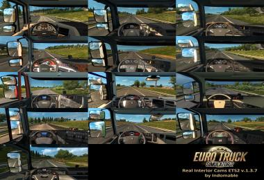 Real Interior Cams ETS2 1.3.7
