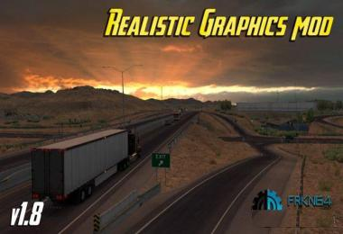Realistic Graphics Mod v1.8 for ATS