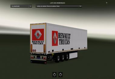 Renault Truck Schmitz Trailer