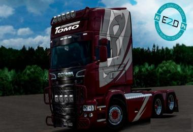 Scania RJL Tomo Transport Skin