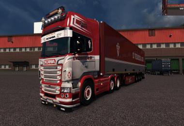 Scania RJL Verbeek Skin V1.28 v1.1