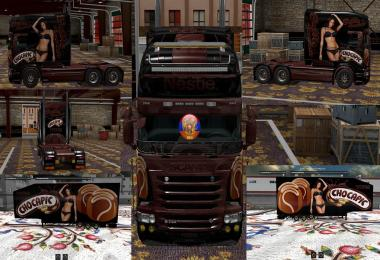 Scania RS (RJL) Chocapic V2 Combo Skin Packs