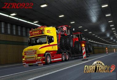Scania RS & T (RJL) Yellow GTM Custom Headlights
