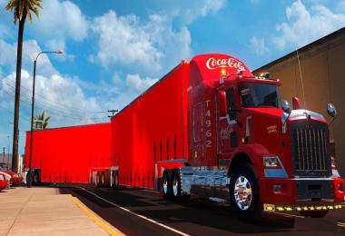 Skin Mex. Coca-Cola T800 Cerritos By: Trucking Designs